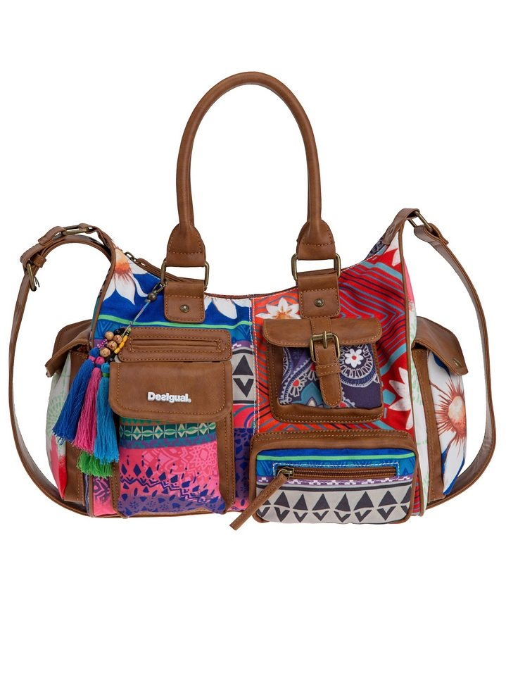Desigual Schultertasche »HAPPY BAZAR« in multi