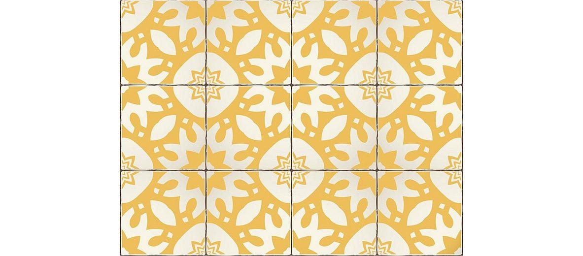 Home affaire Fliesenaufkleber »Ornamente«, 12x 15/15 cm
