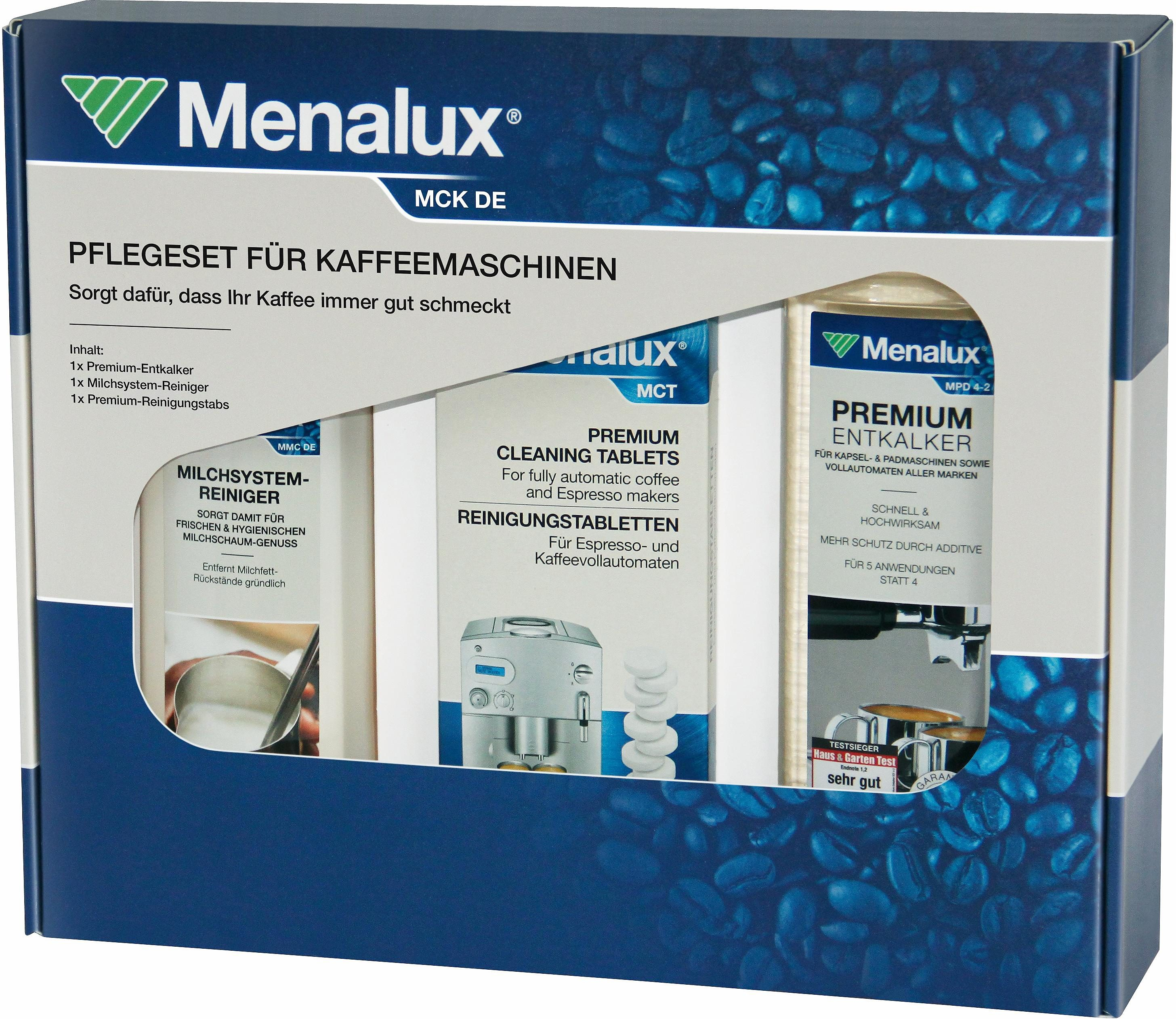 Menalux Reinigungs-Set MCK DE für Vollautomaten