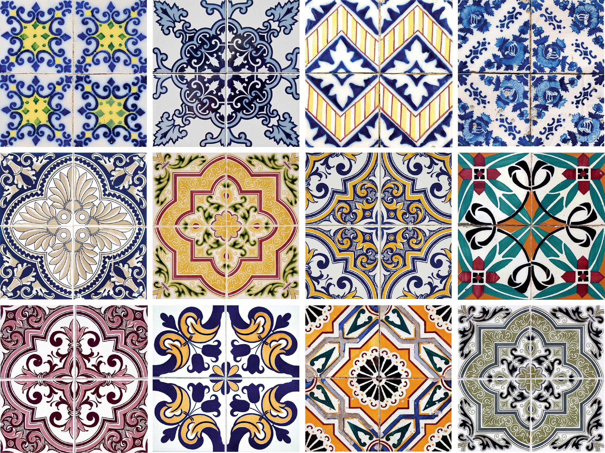 Home affaire Fliesenaufkleber »Ornamente«, 12x 15/15 cm, verschiedene Farben und Motive