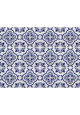 HOME AFFAIRE Flisinis tapetas »blaue Ornamente« (Ri...