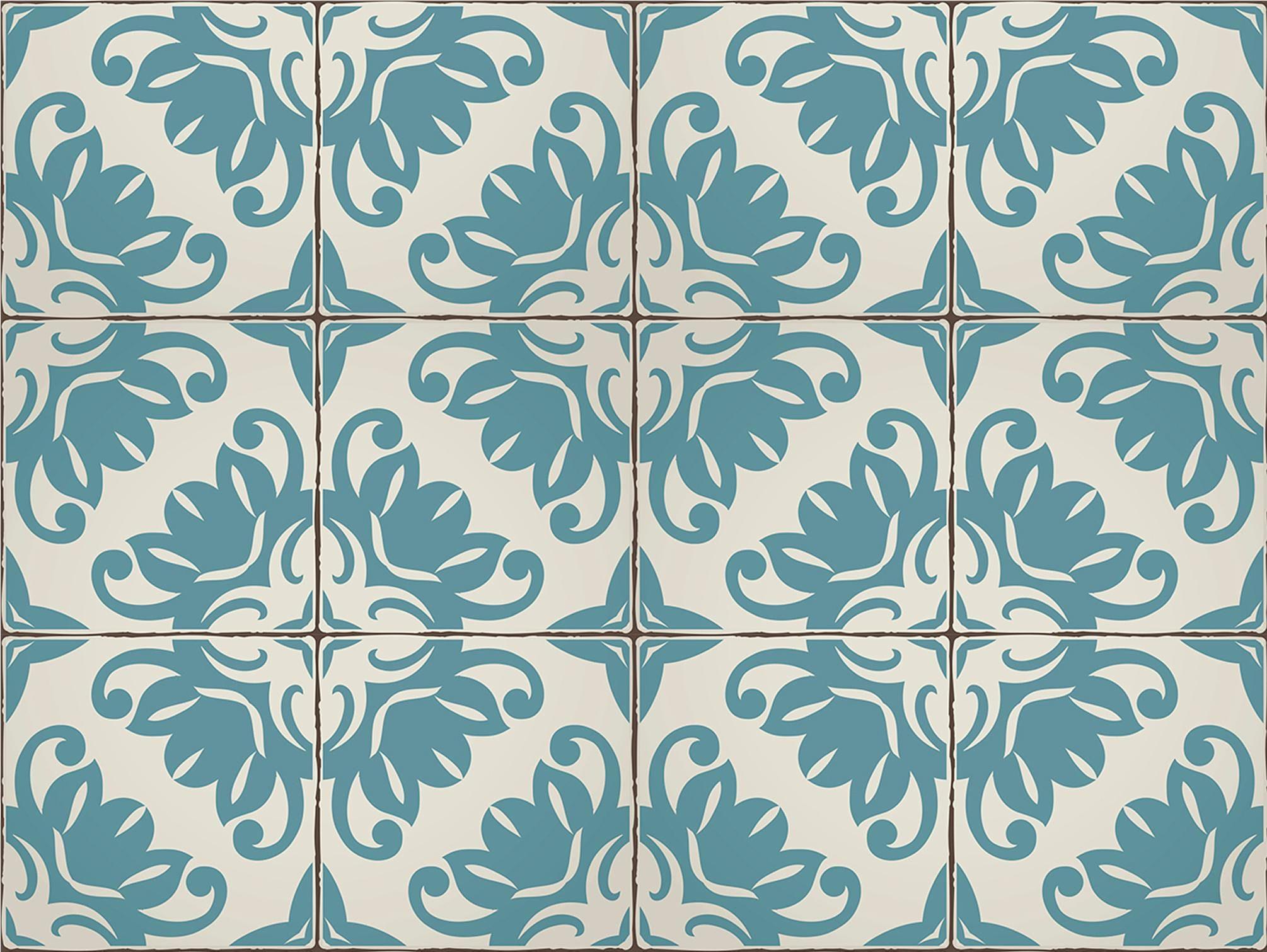 Home affaire Fliesenaufkleber »Ornamente«, 12x 15/15 cm, selbstklebend