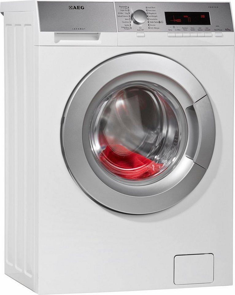AEG Waschmaschine L85475SL, A+++, 6,5 kg, 1400 U/Min in weiß