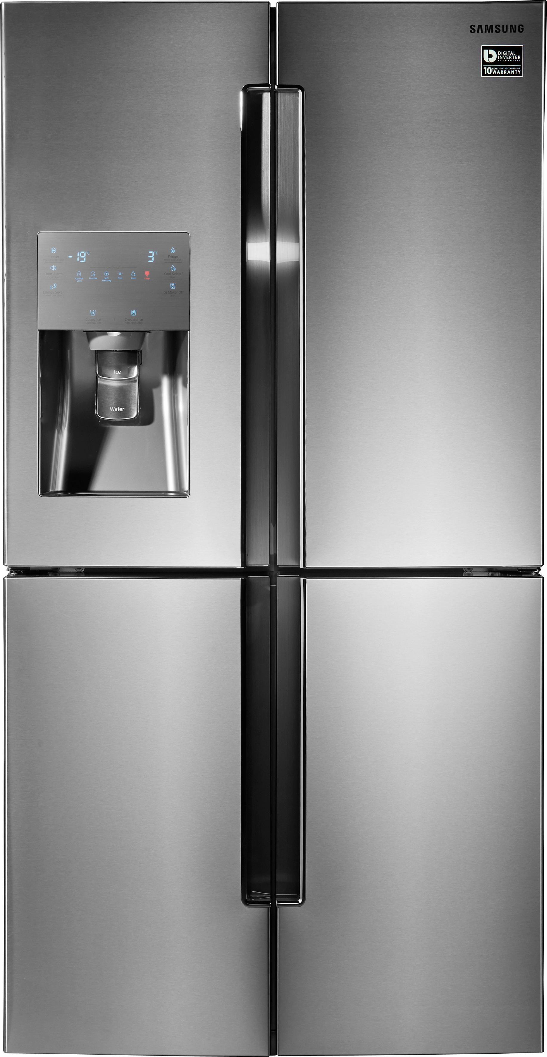 Samsung Side-by-Side T9000 RF56J9041SR/EG, A++, 182,5 cm hoch, NoFrost