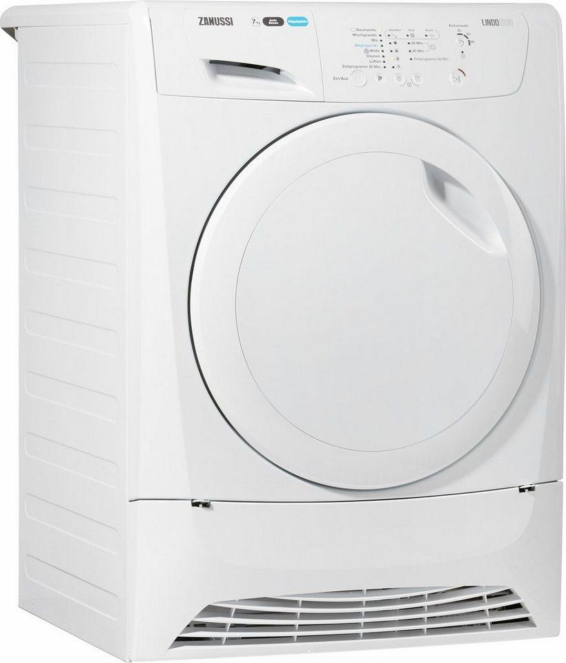 Zanussi Trockner ZDH7332PZ, A+, 7 kg in weiß