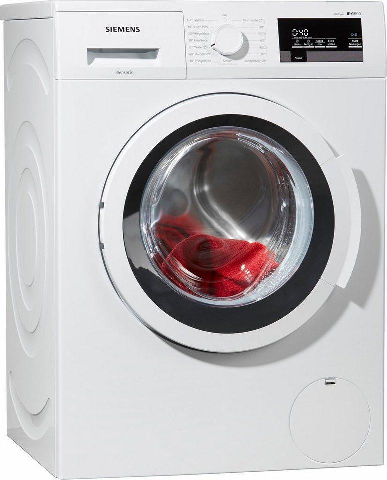 SIEMENS Waschmaschine WM14T3S30, A+++, 8 kg, 1400 U/Min in weiß
