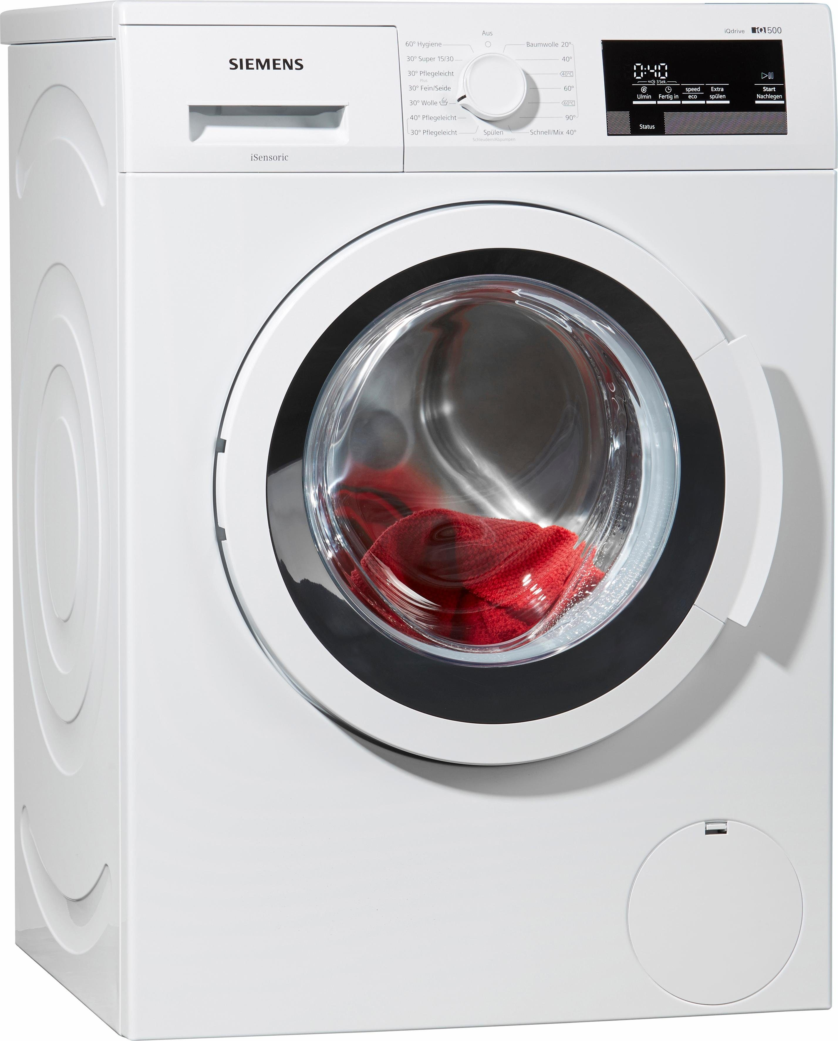 SIEMENS Waschmaschine iQ500 WM14T3S30, A+++, 8 kg, 1400 U/Min
