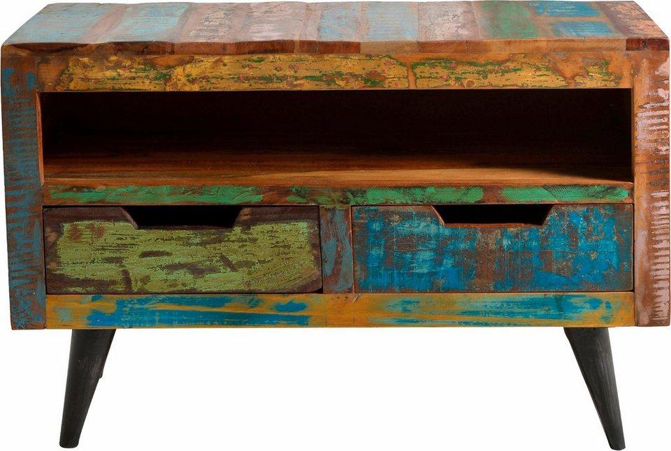 SIT Lowboard »Miami«, 95 cm breit in bunt lackiert