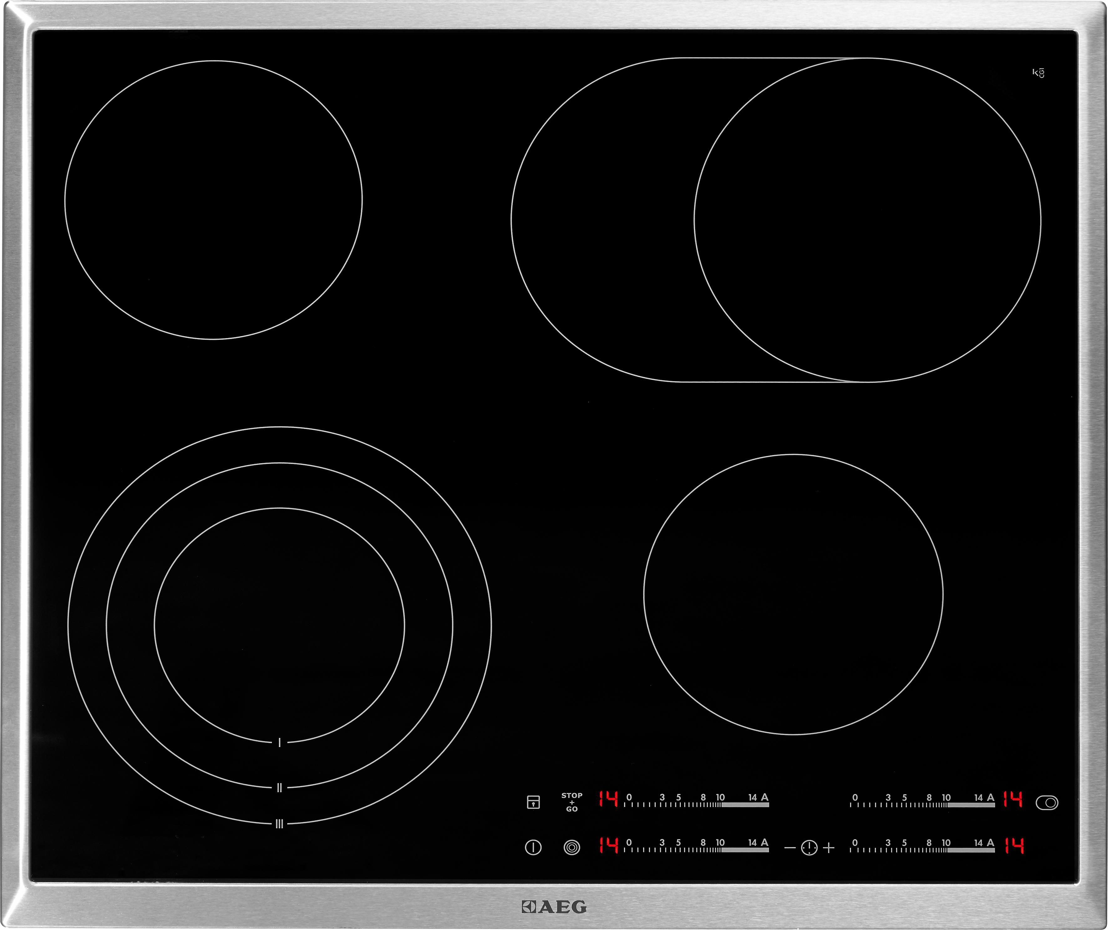 AEG autarkes Glaskeramik-Kochfeld HKA6507RAD