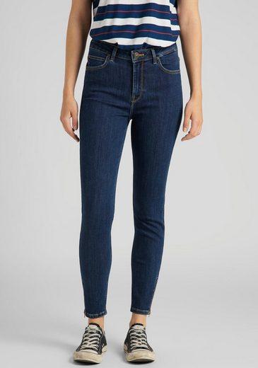 Lee® Skinny-fit-Jeans »Scarlett high« in Stone Travis