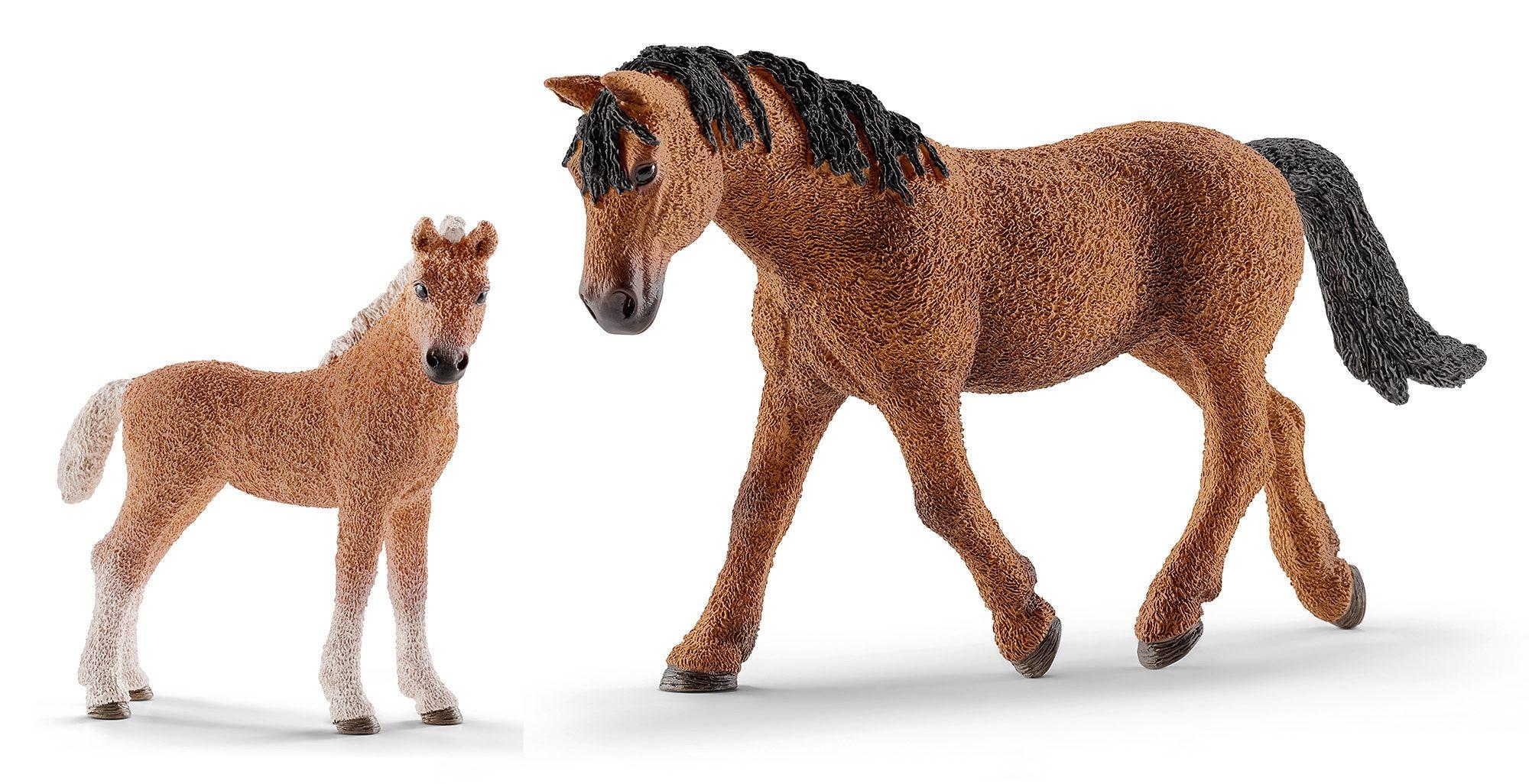Schleich® Spielfigurenset 2-tlg., »Horse Club - Bashkir Curly«