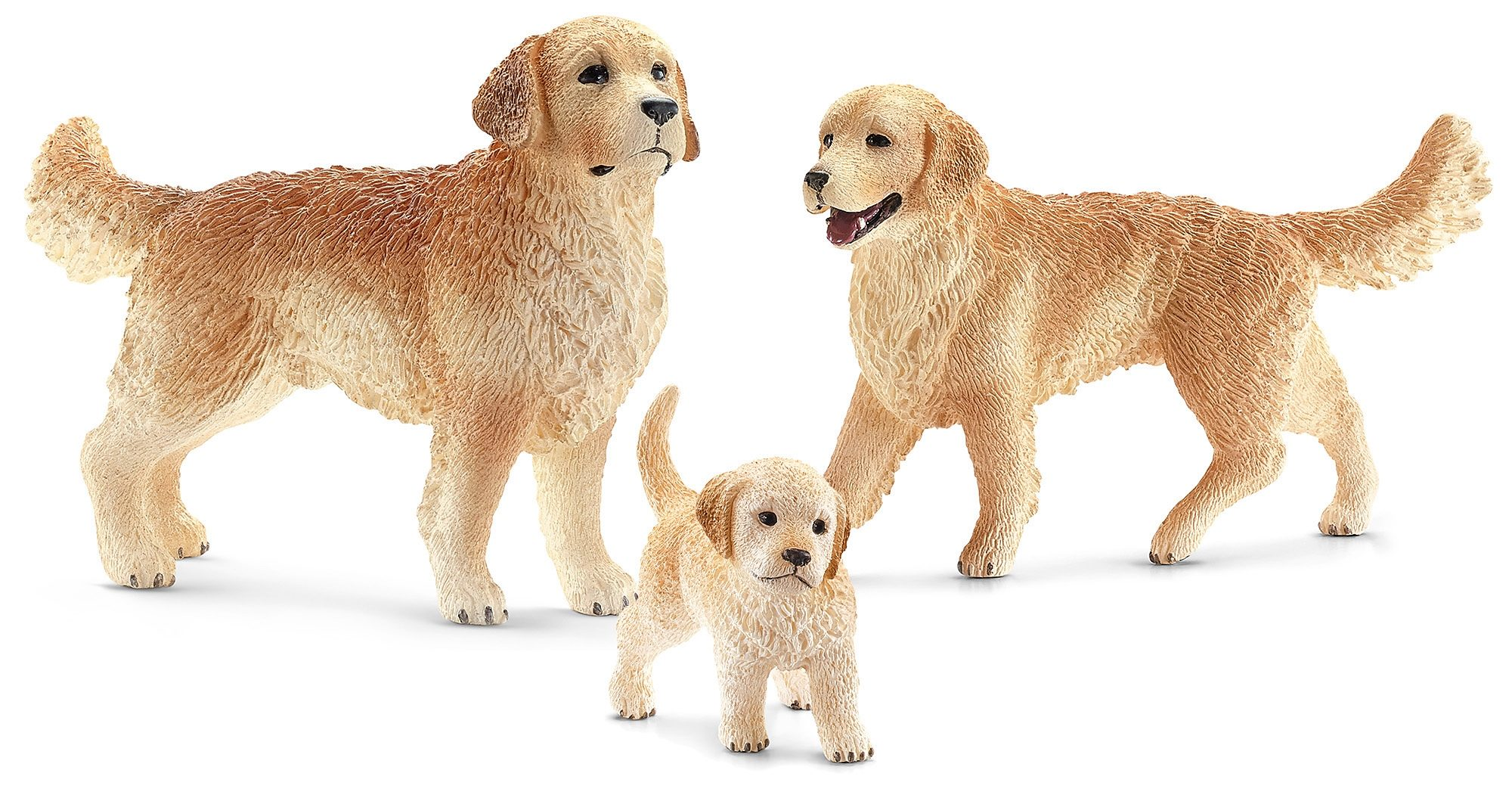 Schleich® Spielfigurenset 3-tlg., »Farm World - Golden Retriever«