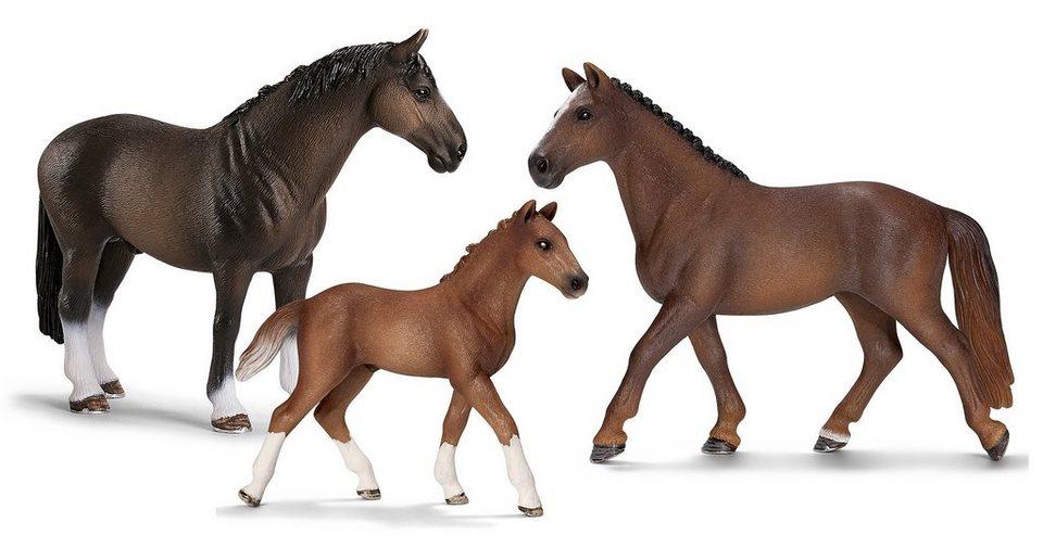 Schleich® Spielfigurenset 3-tlg., »Horse Club - Hannoveraner«