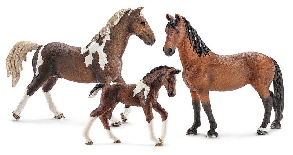 Schleich® Spielfigurenset 3-tlg., »Horse Club - Trakehner«