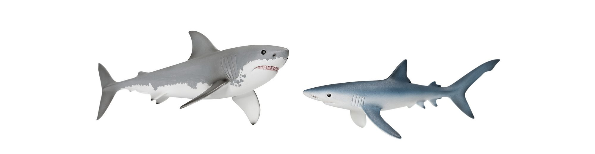 Schleich® Spielfiguren 2-tlg., »World of Nature, Wild Life - Haie«