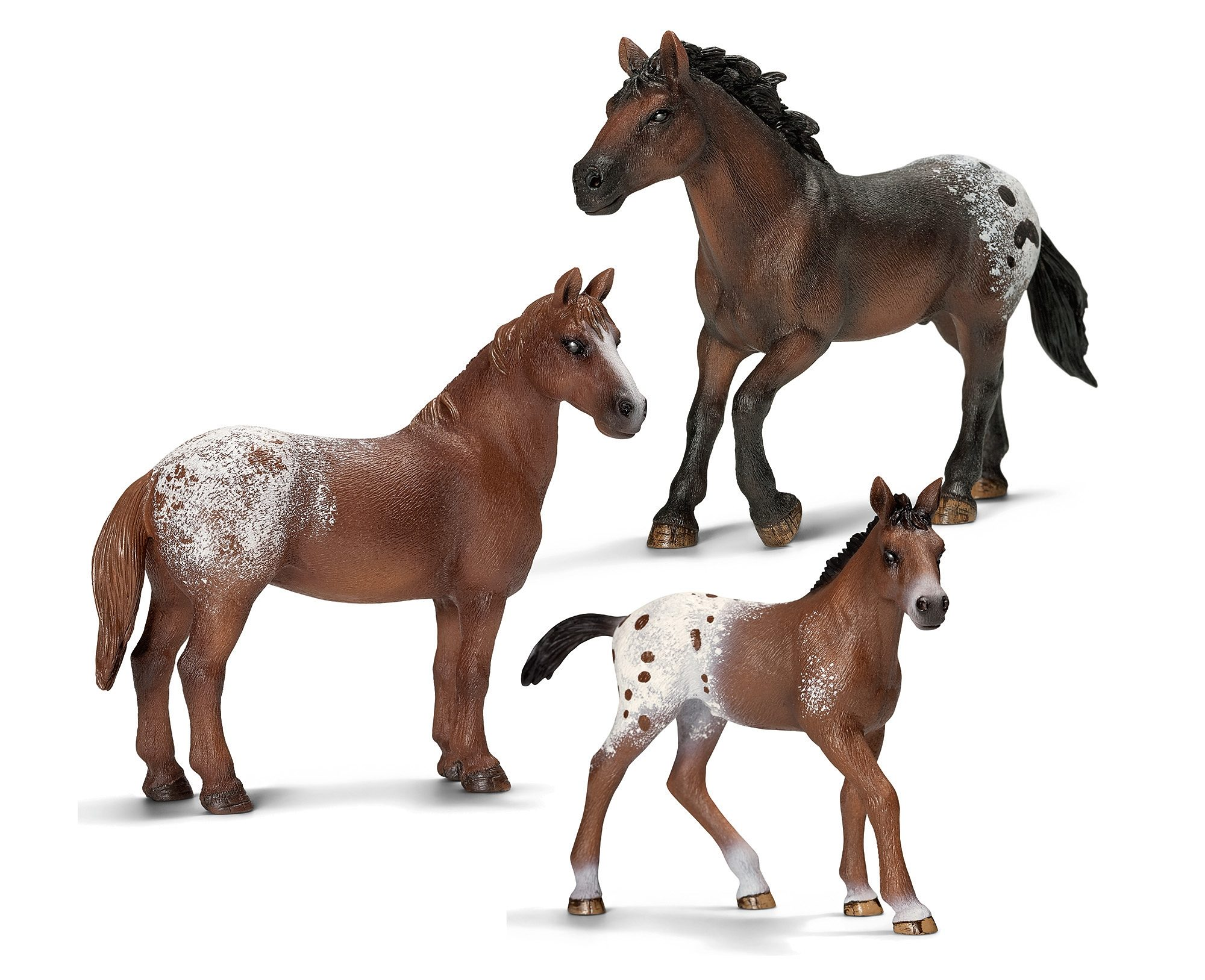 Schleich® Spielfigurenset 3-tlg., »Farm World - Appaloosa«