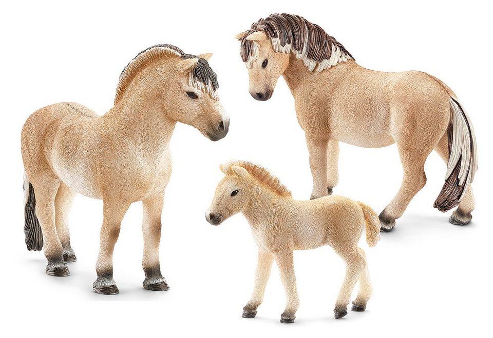 Schleich® Spielfigurenset 3-tlg., »Horse Club - Fjordpferd«