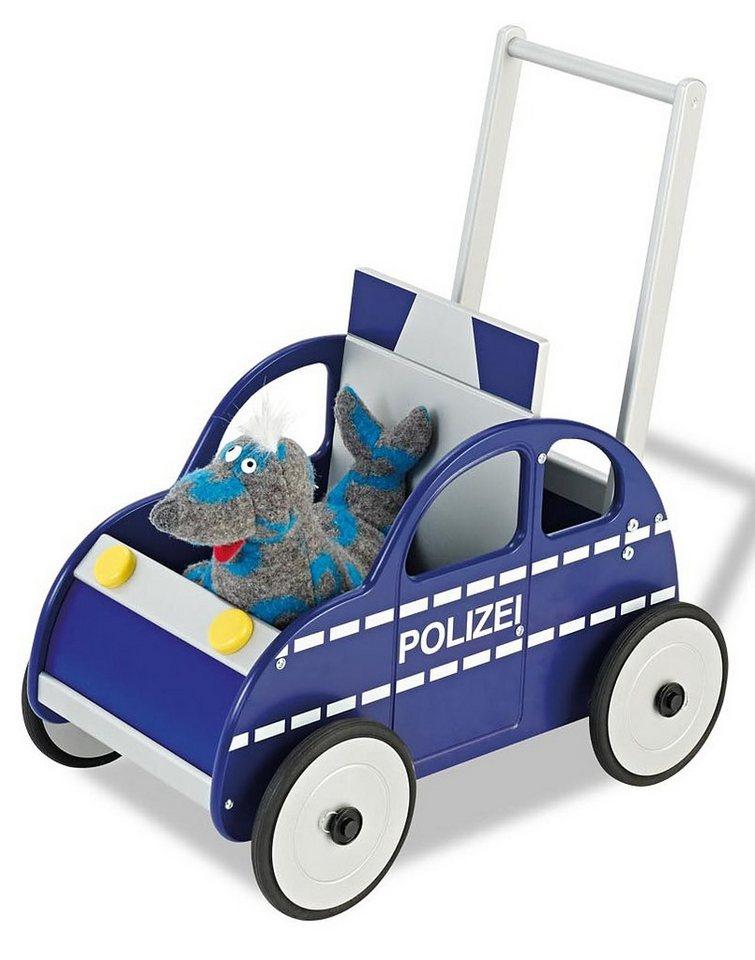 Pinolino Lauflernwagen, »Polizeiauto Rene« in blau