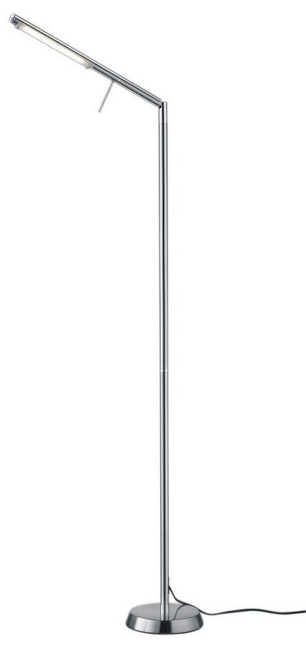 Trio LED-Stehleuchte, 1 flg., »FILIGRAN« in Metall, nickel matt