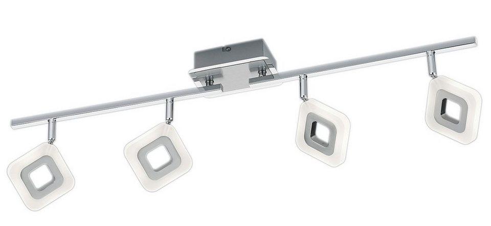 Trio LED-Deckenleuchte, 4 flg., »PARADOX« in Metall, chromfarben