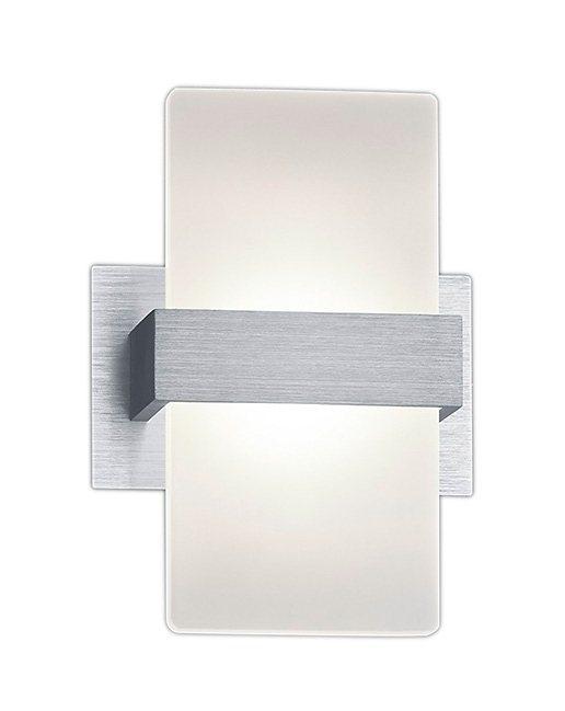 Trio LED-Wandleuchte, 1 flg., »PLATON« in Alu, Acryl weiß