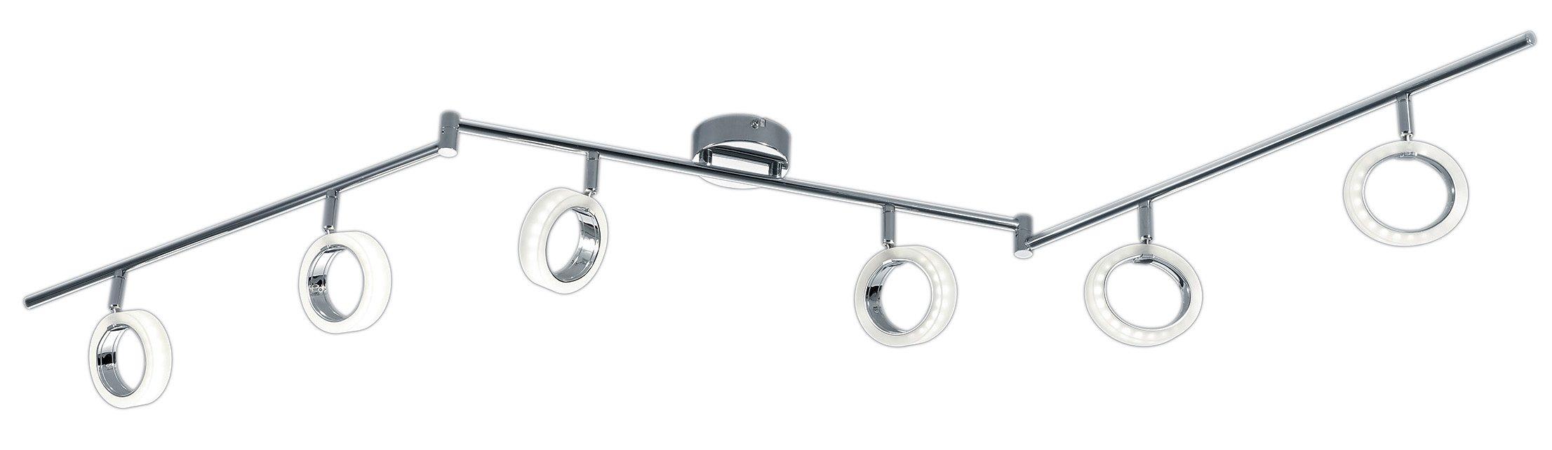 Trio LED-Deckenleuchte, 6 flg., »CORLAND II«
