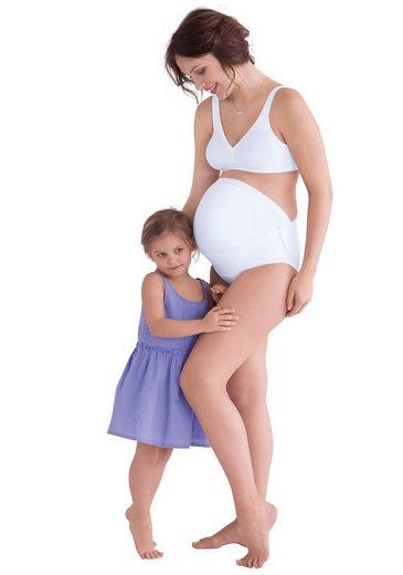 Anita stützender Babybauch Gürtel BABY BELT aus Microfaser