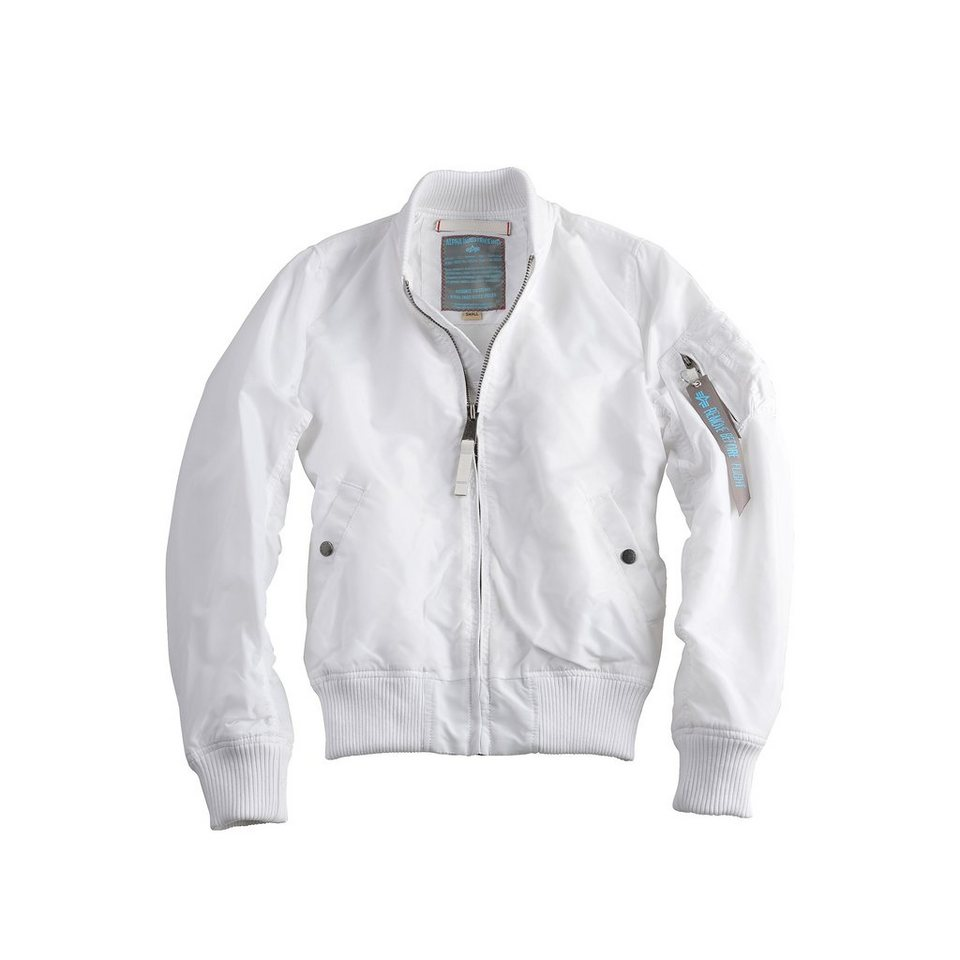 ALPHA INDUSTRIES Jacke »MA-1 TT Wmn« in white