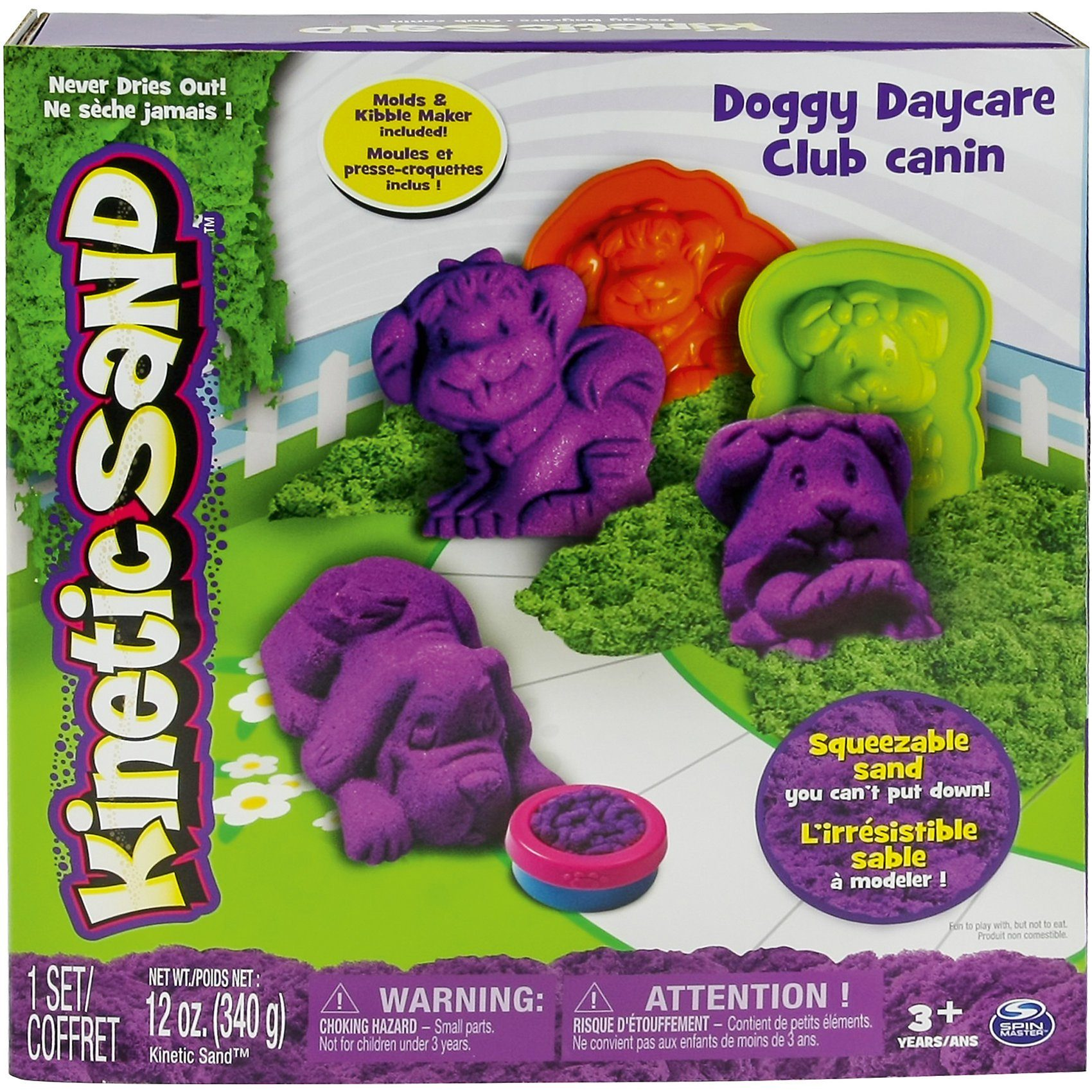 Spin Master Kinetic Sand Doggy Daycare