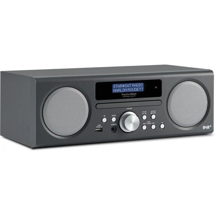 TechniSat Digitalradio für DAB+, DAB und UKW-Empfang »TechniRadio Digit CD«