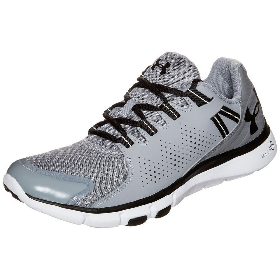 Under Armour® Micro G Limitless Trainingsschuh Herren in grau / schwarz