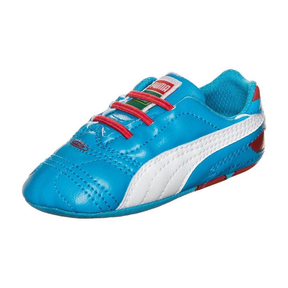 PUMA Crib Sesame Street Sneaker Kleinkinder in blau / weiß / rot