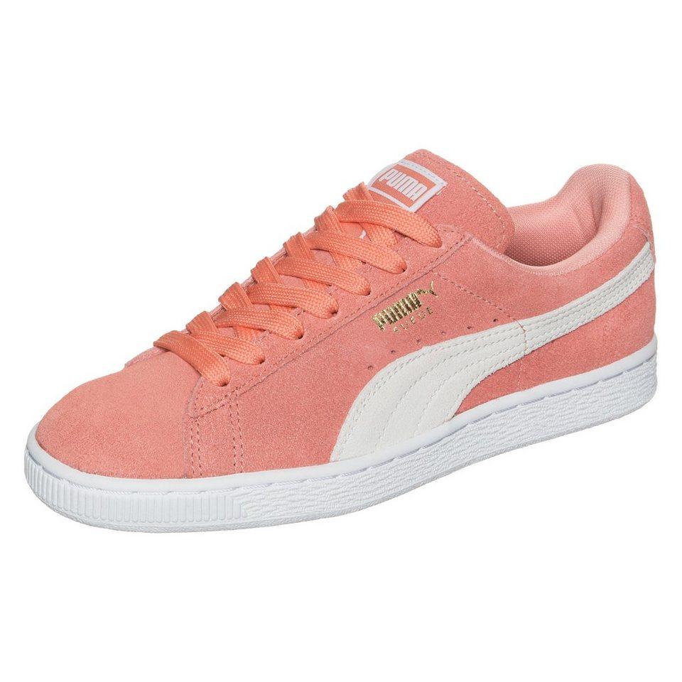 PUMA Suede Classic Sneaker Damen in rosa / weiß