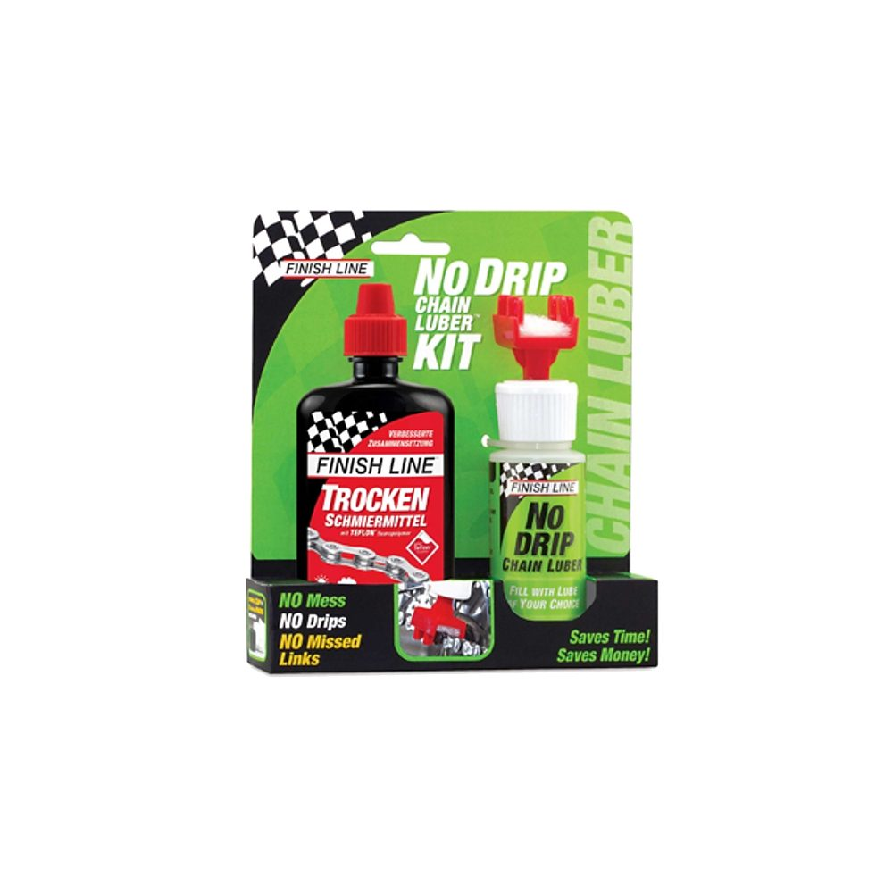 Finish Line Fahrrad Reiniger »No Drip Chain Luber Combo Dry Lube 120 ml«