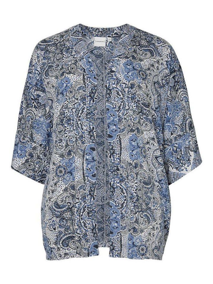 JUNAROSE Bedruckter Kimono in Black Iris