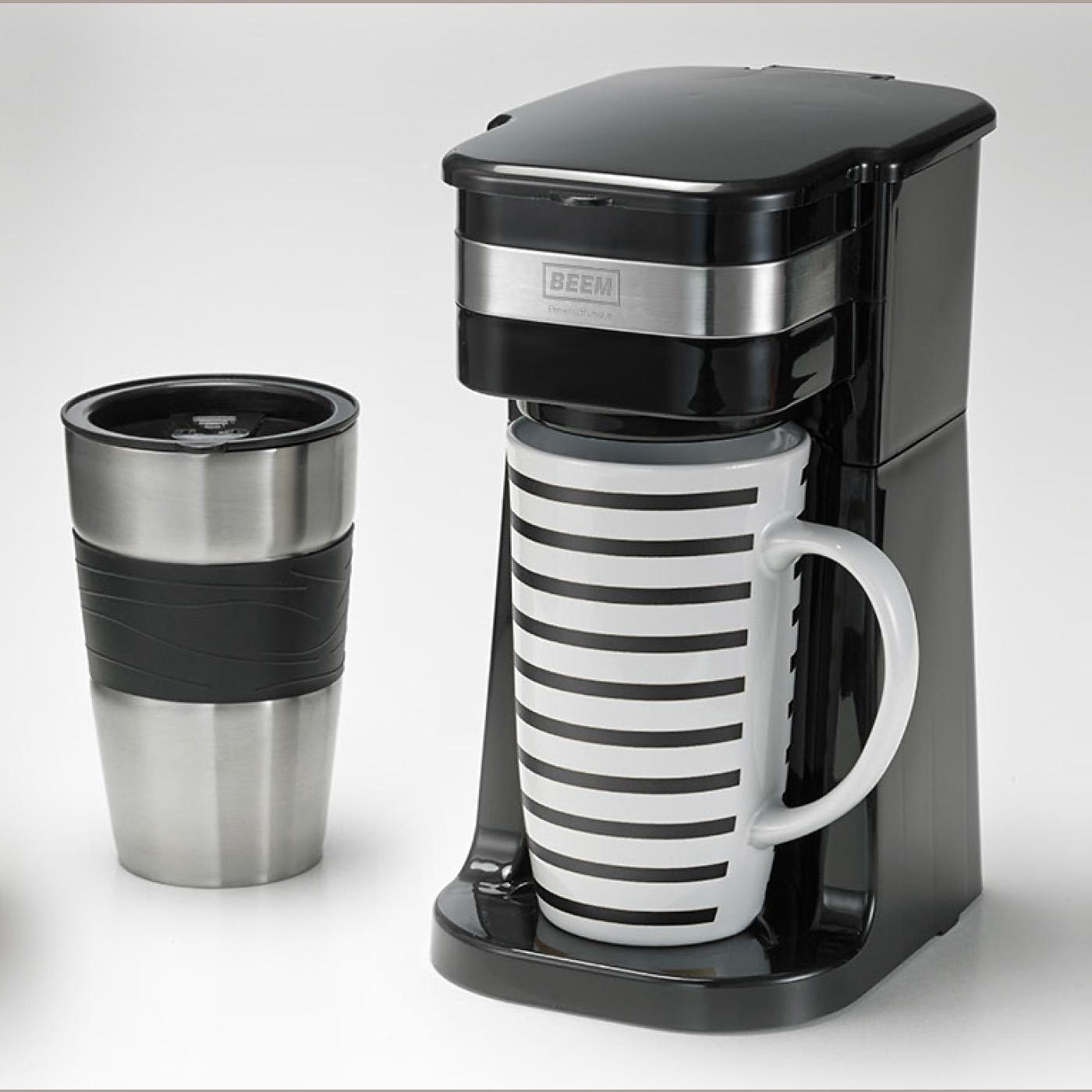 BEEM Kaffeemaschine Café BoXX, schwarz