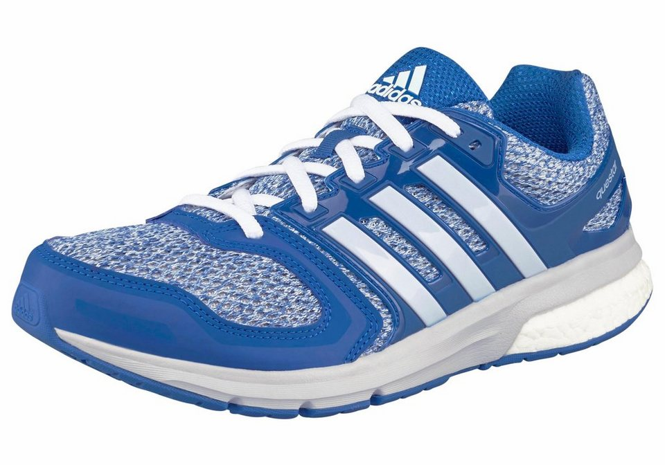 adidas Performance Questar Boost M Laufschuh in Blau-Weiß