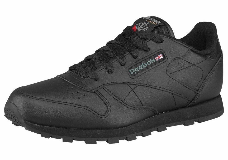 Reebok »Classic Leather« Sneaker in schwarz