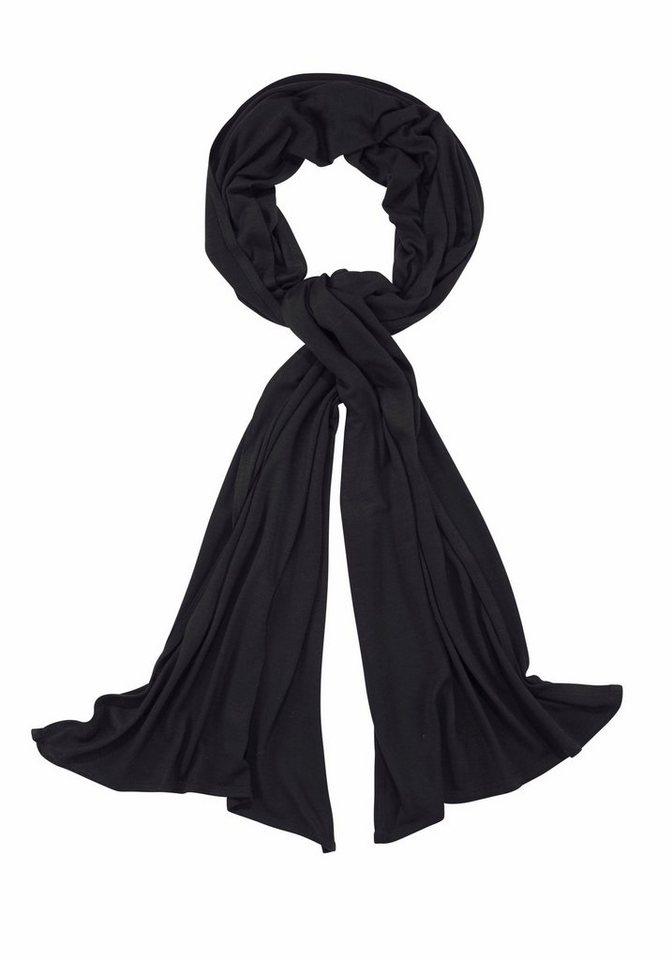 J. Jayz Modeschal aus weichem Material in schwarz