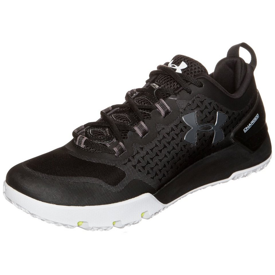 Under Armour® Charged Ultimate Trainingsschuh Herren in schwarz / weiß