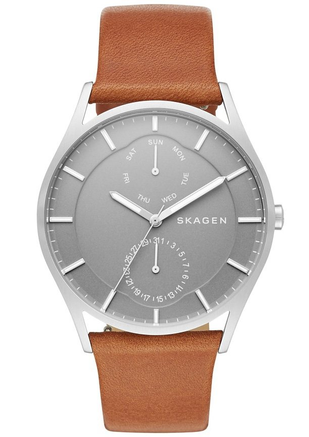 Skagen Multifunktionsuhr, »HOLST, SKW6264« in hellbraun