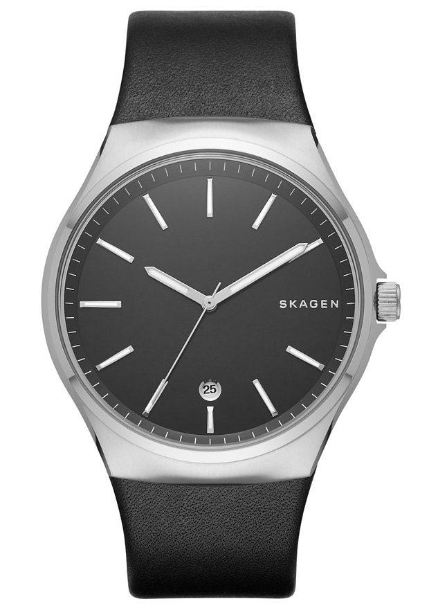 Skagen Armbanduhr, »SUNDBY, SKW6260« in schwarz
