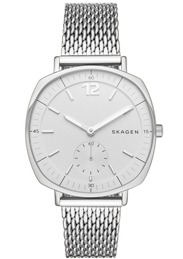 Skagen Armbanduhr, »RUNGSTED, SKW2402« in silberfarben
