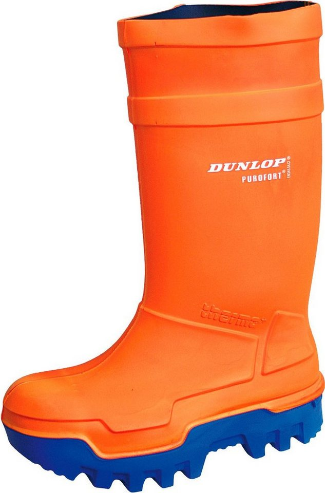 Dunlop Gummistiefel »Thermo-Plus« in orange