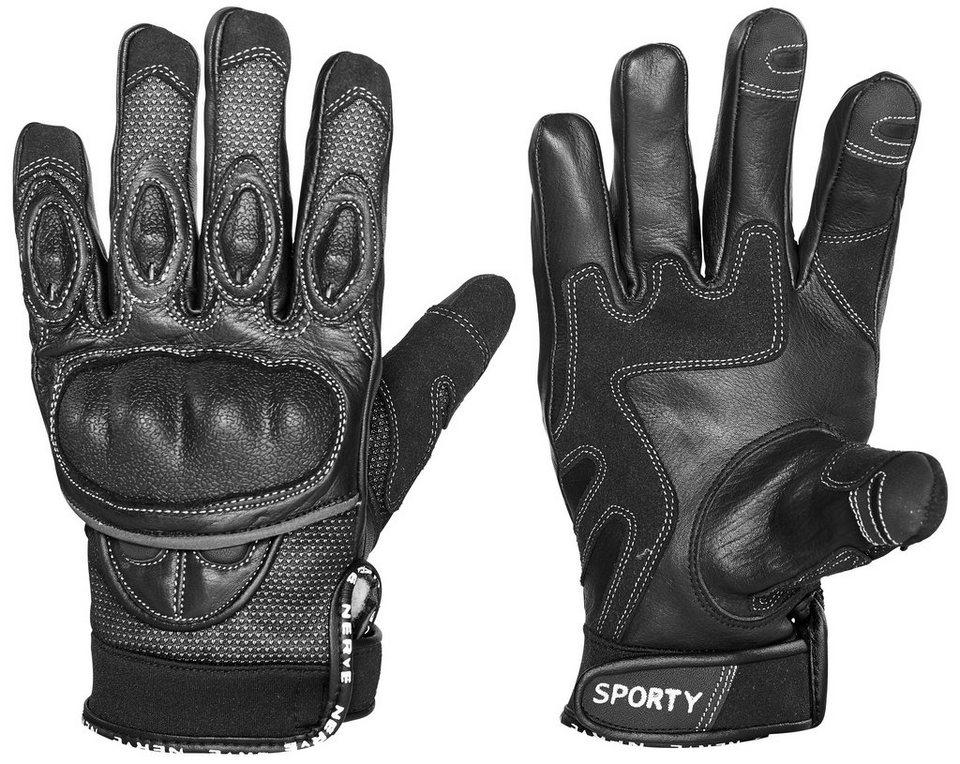 Handschuhe »Sporty« in schwarz