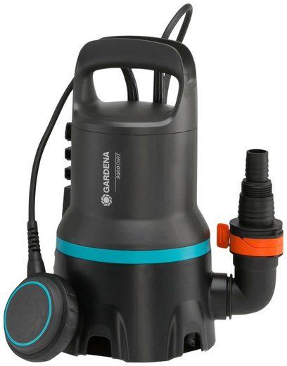 GARDENA Schmutzwasserpumpe »Tauchpumpe 9000, 9040-20«, 9000 l/h max. Fördermenge