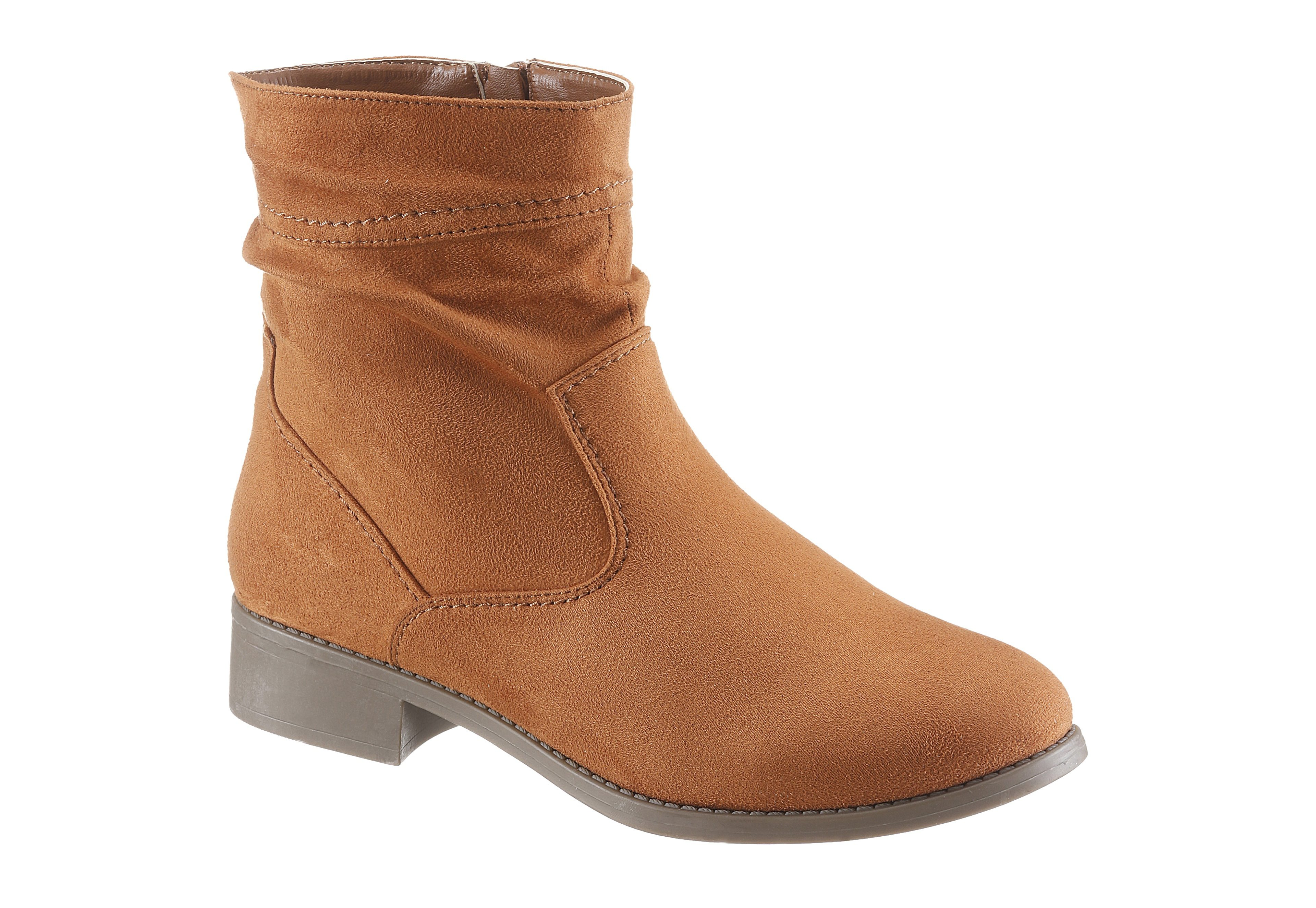 CITY WALK Schlupfboots, im Basic-Look kaufen  camelfarben