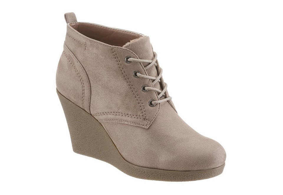 CITY WALK Ankleboots in taupe