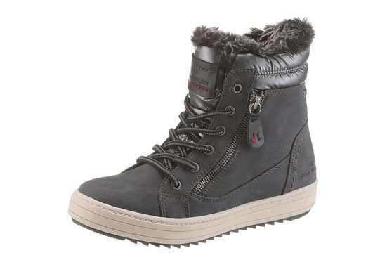 TOM TAILOR Winterboots in toller Materialkombination