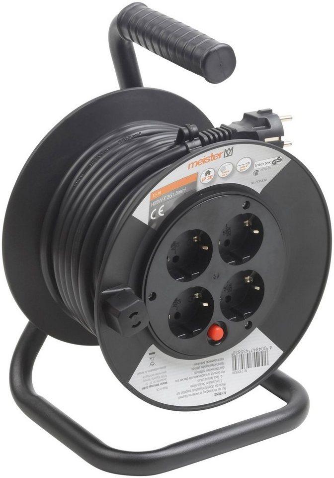 Kabeltrommel »H05VV-F3G1,5, IP20« in schwarz